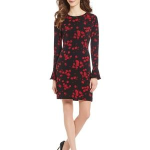 MICHAEL Michael Kors Eden Rose Flounce Dress